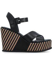 Elvio Zanon Sandals - Zwart