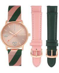 Juicy Couture Beobachten Sie JC / 1094Inst - Pink