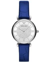 Emporio Armani Watch - Blauw
