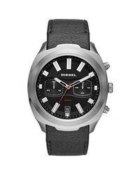 DIESEL Time Frames Dz4499 Watch Men Steel - Grijs