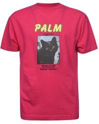 Palm Angels T-shirt - Roze