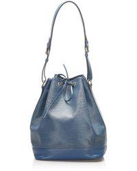 Louis Vuitton Epi Noe Leer - Blauw