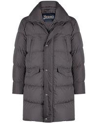 Herno Puffer Jacket - Grijs