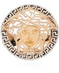 Versace Medusa head ring - Gelb