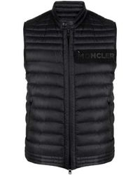 Moncler Roussilon Vest - Zwart
