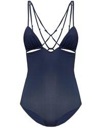 Jacquemus Pila One-piece Swimsuit - Blauw