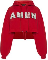 Amen Sweater - Rouge