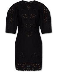 Isabel Marant Cut-out Dress - Zwart