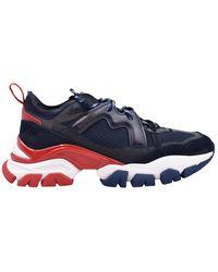 Moncler Sneakers Laat Geen Spoor - Blauw