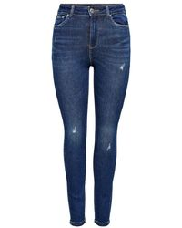 ONLY Onlmila Jeans - Blauw