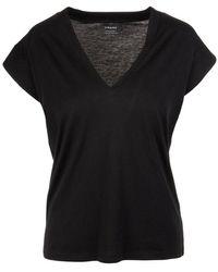 FRAME T-shirt - Zwart