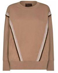 Mos Mosh Evie Sport Sweatshirt 139410 - Bruin