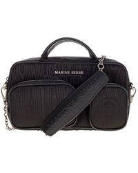 Marine Serre Handbag B013iconxpl0011 - Zwart