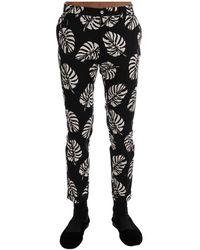 Dolce & Gabbana Stretch Slim Pants - Zwart