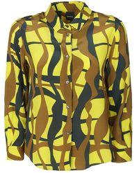 Aspesi Shirts - Geel