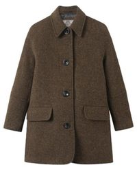 Brixtol Textiles Edie Coat - Marrone