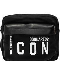 DSquared² Rugtas Met Logo - Zwart