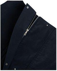 Hermès Midi Zip Skirt Negro