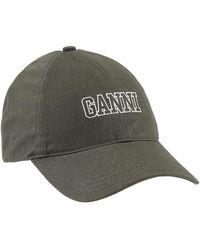 Ganni Cap - Groen