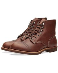Red Wing 8111 Heritage 6 Iron Ranger Boots - Bruin