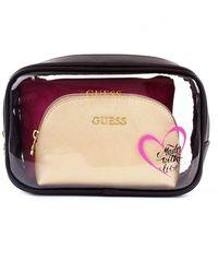Guess Pwrianp0150 Beauty Bags Women Black - Zwart