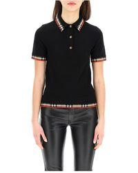 Burberry Poloshirt - Zwart