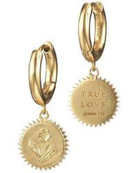 Anni Lu True Love Earrings - Geel