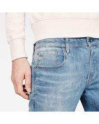 G-Star RAW Raw 3301 Slim Jeans Skinny & Slim Fit Denim - Blauw