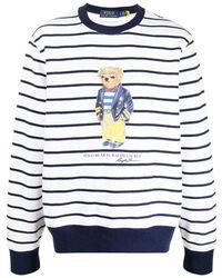 Polo Ralph Lauren Sweatshirt Dragen - Wit