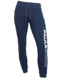 Paul & Shark Pantalone da jogging 11311901 - Azul