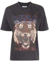 Anine Bing Shirt - Zwart