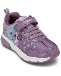 Geox Spaceclub Bn 332 Sneakers Morado
