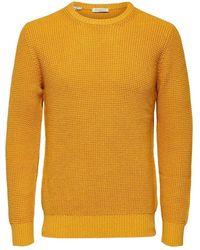 SELECTED Pullover - Oranje