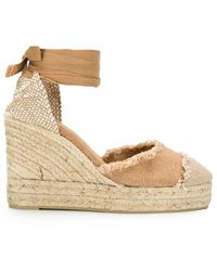 Castaner Castaner Flat Shoes - Bruin