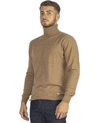 DSquared² Fine Turtleneck Sweater - Naturel