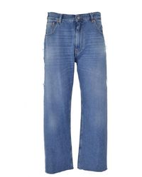 Maison Margiela 5-pocket Regular Waist Jeans - Blauw