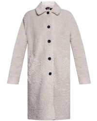 PS by Paul Smith Fur Coat - Wit