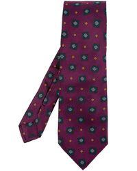 Etro Tie - Paars