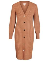 Object Nola Knit Dress - Bruin
