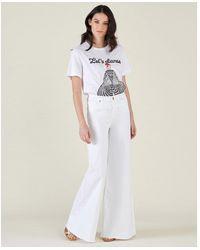 Silvian Heach Jeans - Bianco