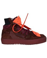 Off-White c/o Virgil Abloh Off Court 3.0 Sneakers - Rood