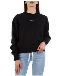 Calvin Klein - Choker Sweatshirt - Lyst