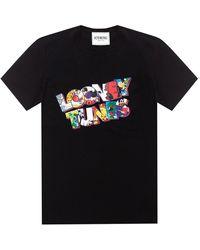 Iceberg Looney Tunes T-shirt - Zwart