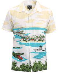 Dark Seas Islamorada Shirt - Blauw
