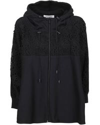 Valentino Jersey Felpa - Zwart