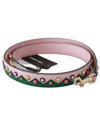 Dolce & Gabbana Handtas Accessory Schouderriem - Naturel
