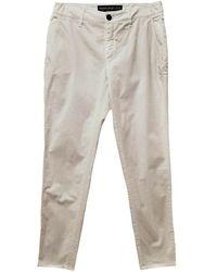 Department 5 Pantalon Chino Pitillo - Blanc