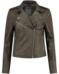 Goosecraft Biker Jacket100001014 - Groen
