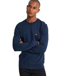 Denham Wilson Sweat Blazer - Blauw