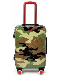 Sprayground Trolley Checks E Camouflage - Groen